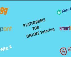 platforms for online tutoring