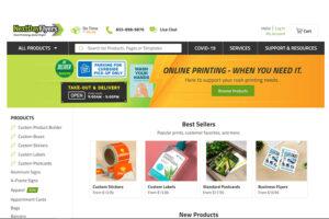 Next-Day Flyers Printful online printing & design company