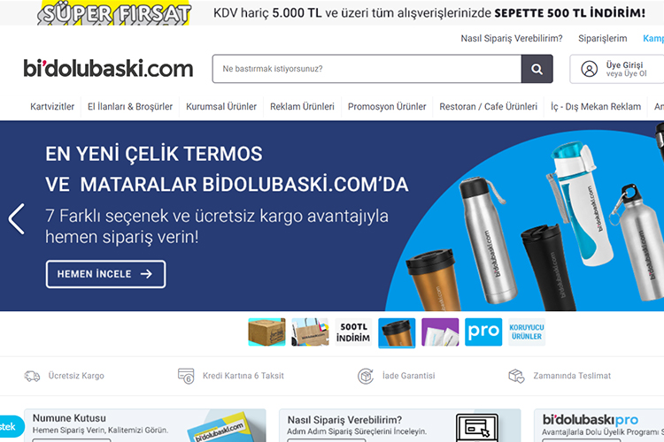 BIDOLUBASKI online printing & design company