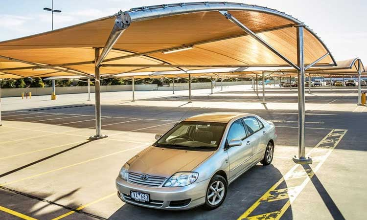 Park Smart to keep car Cool in Summer