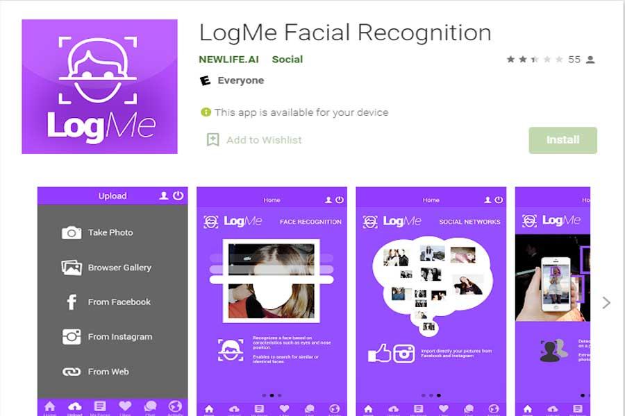 LogMe-Face-Recognition-App