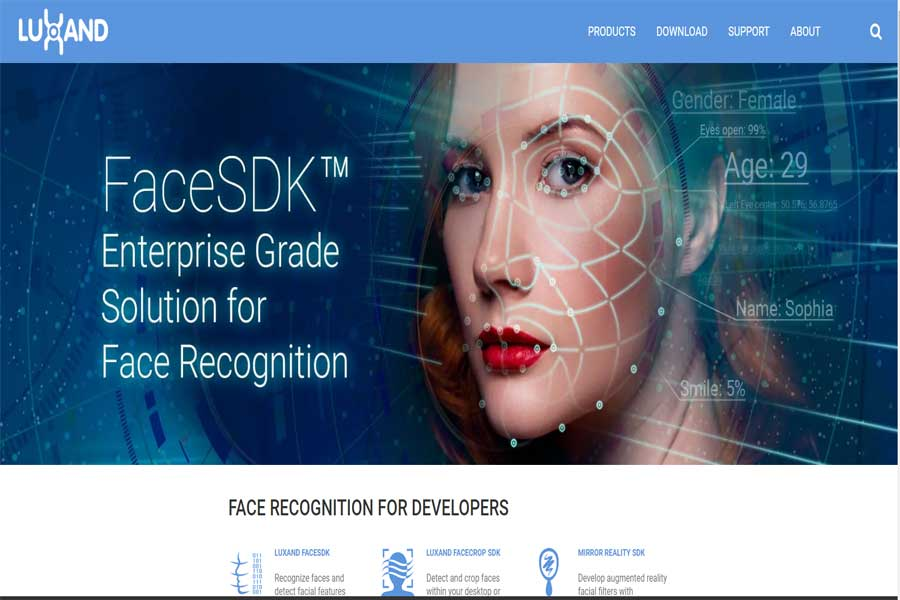 Luxand-Face-Recognition-App
